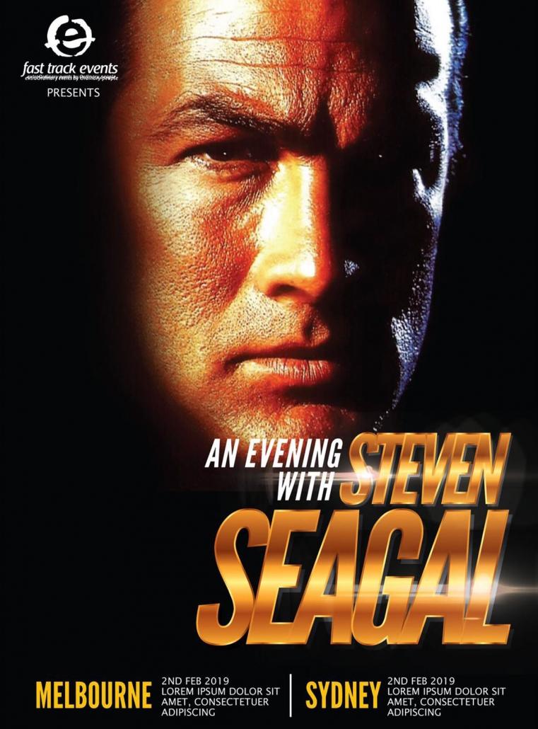An Evening with Steven Seagal