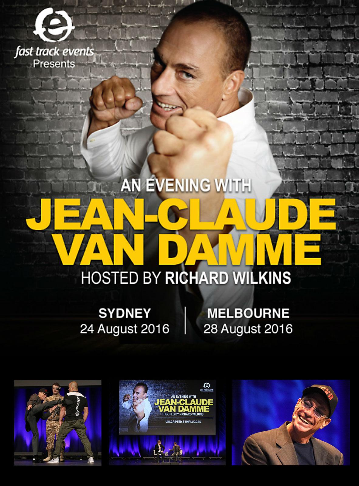 An Evening with Jean-Claude Van Damme